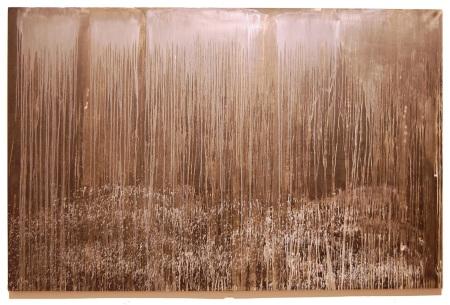 Pat Steir's Waterfall of a Misty Dawn