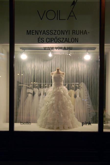 window wedding