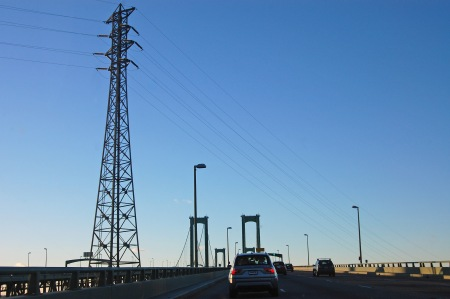 sheeler delaware bridge